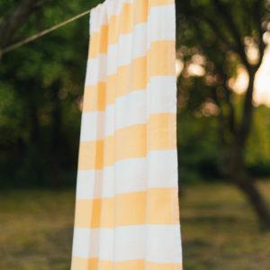 Veľká osuška žltá bavlna